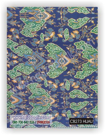 Grosir Baju Murah, Model Batik Modern, Grosir Pakaian, CB273 HIJAU