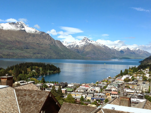 A lovely day (one of many) we spent in Queenstown, New Zealand