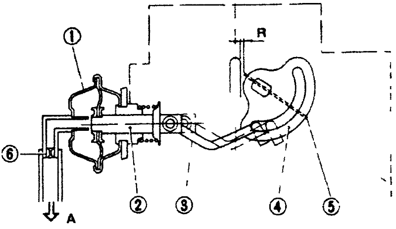 Регулировка открытия воздушной заслонки - механическая воздушная заслонка