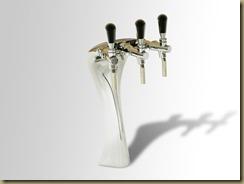 TWICE 1 итальянская пивная колонна на три сорта пива