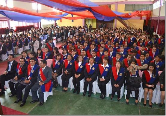 307 nuevos profesionales fueron titulados en UPEA el 23 de septiembre
