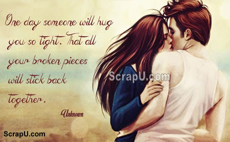 A silent hug means a thousand words Comments