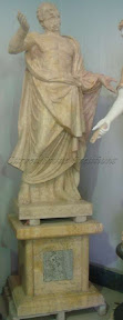 Figure, Interior, Marble, Natural Stone, Pedestal, Statues