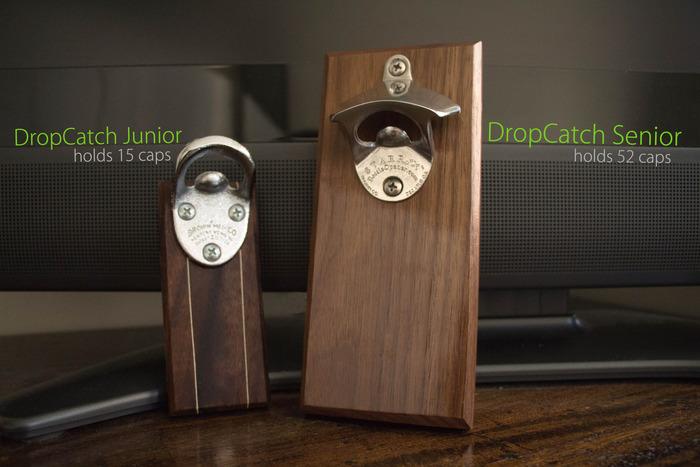 *木製吸鐵開瓶器DropCatch:反抗地心引力便利設計! 1