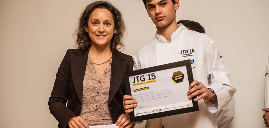 Aluno da Escola de Hotelaria e Turismo Douro-Lamego vence final do jovem talento da gastronomia