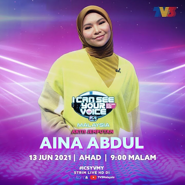 LIVE I Can See Your Voice Malaysia 4 Minggu 5 (13.6.2021)