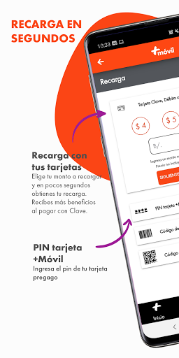 Mi Mas App screenshot 1