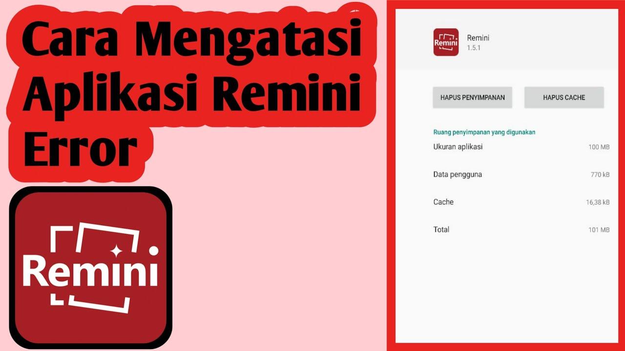 Kenapa Remini Tidak Bisa Digunakan