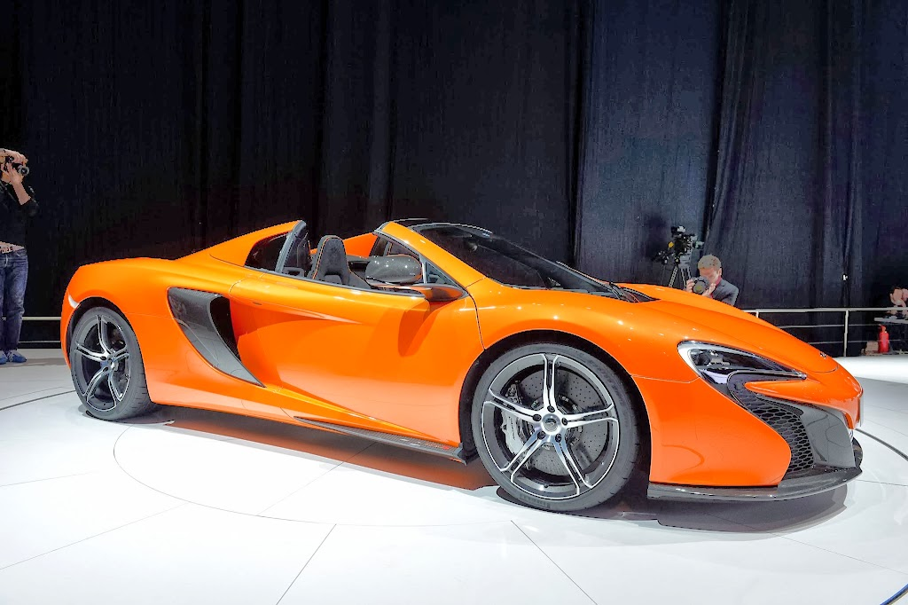McLaren 650S Spider Geneva Motor Show 29