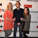 OIC - ENTSIMAGES.COM - Shauna Macdonald, Paul Hyett and Rosie Day at the Film4 Frightfest on Monday   of  Howl   UK Film Premiere at the Vue West End in London on the 31st  August 2015. Photo Mobis Photos/OIC 0203 174 1069