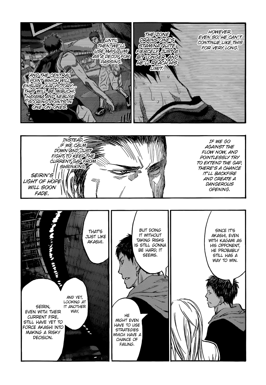 Kuroko no Basket Manga Chapter 252 - Image 08