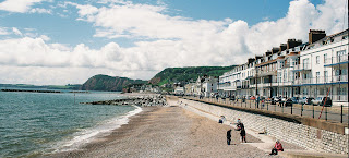 Sidmouth Esplanade, looking West