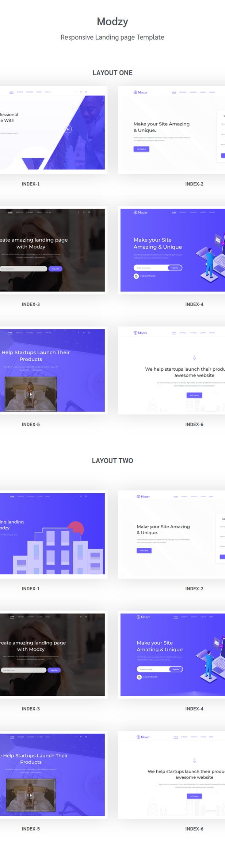 Modzy - Landing Page Template - 1