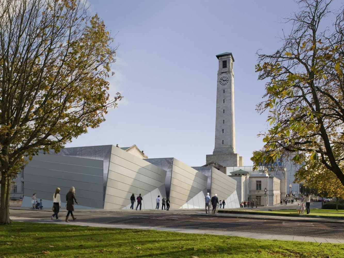 Museum: SEA CITY MUSEUM by WILKINSON EYRE ARCHITECTS