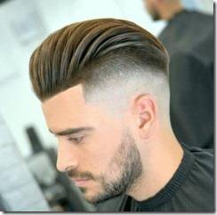 Clean slide mens fade haircut