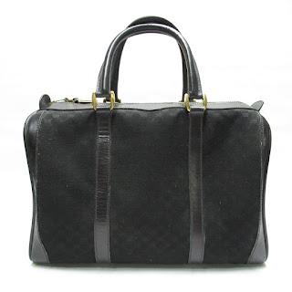 Gucci Vintage Monogrammed Handbag