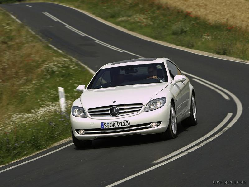 2008 mercedes benz cl class cl65 amg specifications for Mercedes benz of tysons corner staff