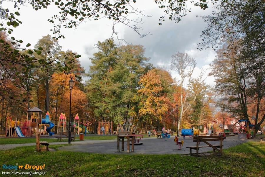 Wejherowo - Plac Zabaw dla dzieci w parku miejskim