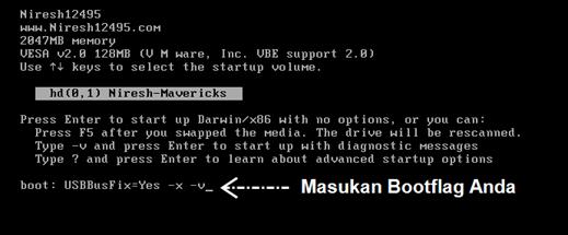 bootflag hackintosh