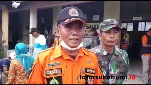 Kabid Kedaruratan dan Logistik BPBD Kabupaten Sukabumi, Maman Suherman