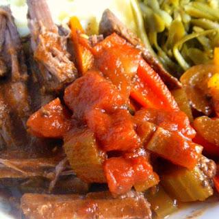 Cajun Pot Roast.
