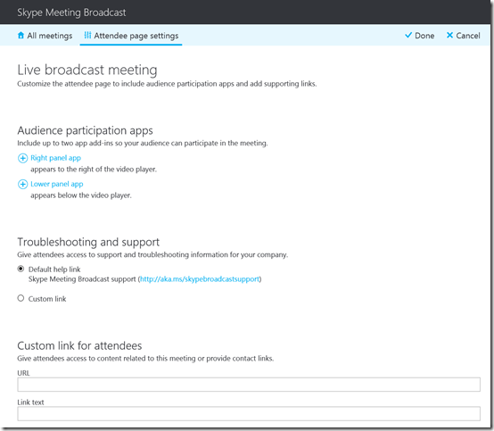 Skype Meeting Broadcast – CIAOPS