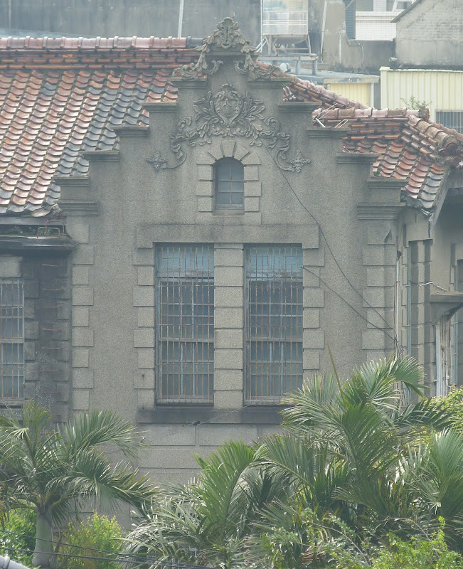 vieux bâtiment,probablement du temps de la colonisation Japonaise