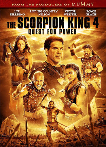 The Scorpion King 4: Quest for Power (2015) เดอะ สกอร์เปี้ยน คิง 4: ศึกชิงอำนาจจอมราชันย์