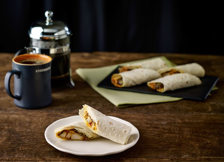 New at Starbucks: CHICKEN PARMIGIANA WRAP