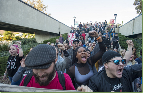 shapiro protestors