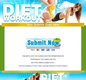Sales Page | Diet Workout
