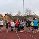 Marathontraining im Stadion 01.04.2014