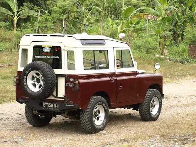 Lapak Jeep Klasik Land Rover Seri 2 Th.69 - JOMBANG ...