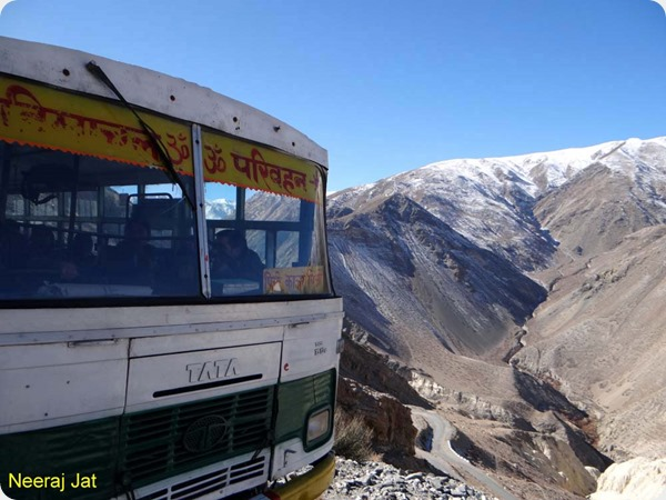 Reckong Peo - Kaza Bus