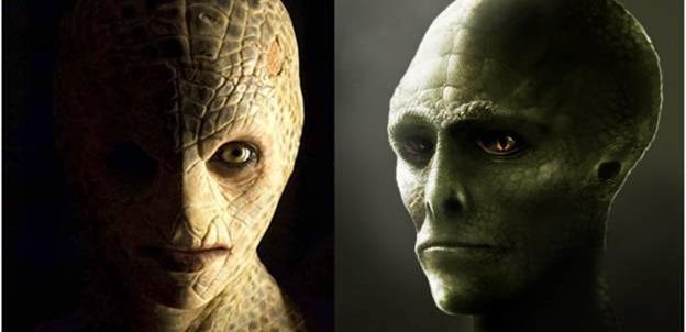 Top 10 provas de répteis Extraterrestres entre nós 04