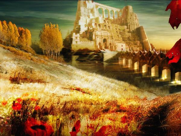 Magick Landscape From Dream 4, Magical Landscapes 4