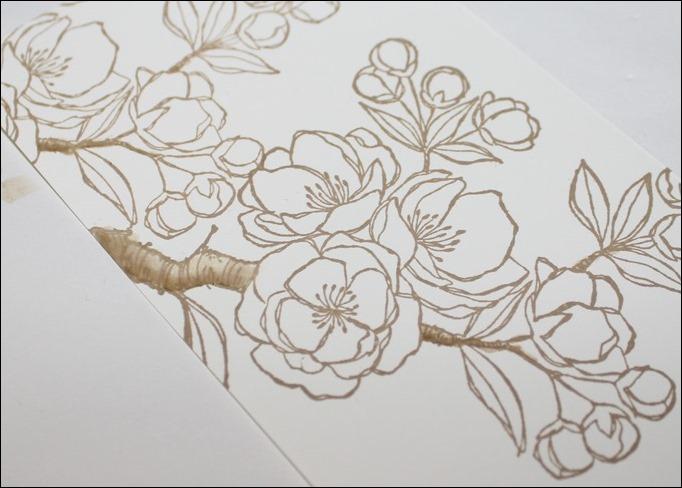 Stempel Motiv colorieren Technik 04