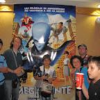 Megamente película que nos vimos en Cinemark en el centro comercial San Pedro Plaza, Neiva.