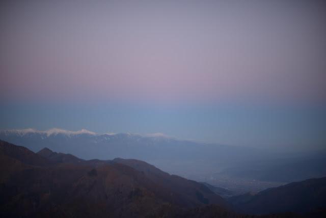 三つ峠から八ヶ岳