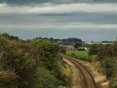 Railway line looking towards Sheringham