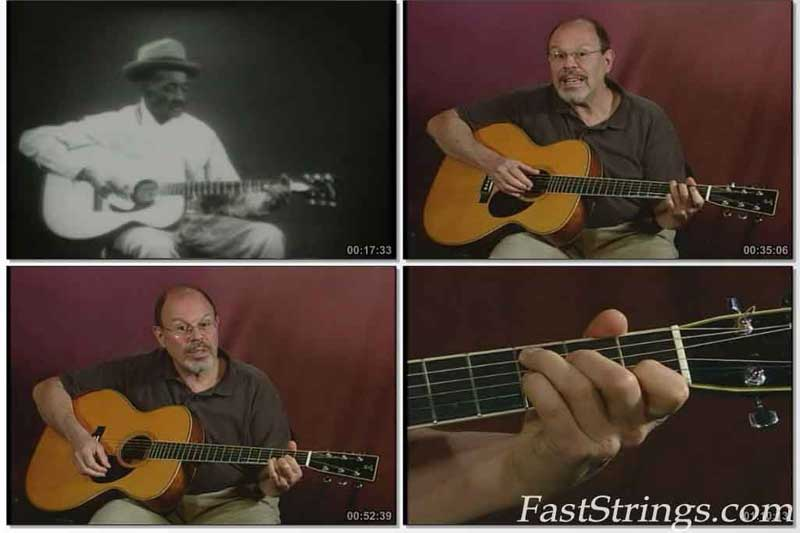 Stefan Grossman - Fingerpicking Guitar Techniques