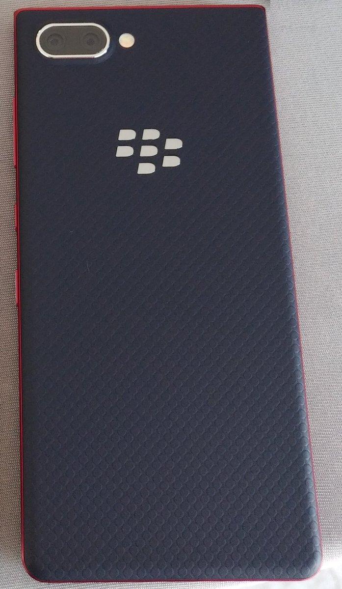 صور BlackBerry KEY2 Lite تكشف عن تصميمه بالإضافة الي بعض من مواصفاته