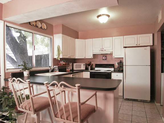 Kitchen view of Tempe town home for sale