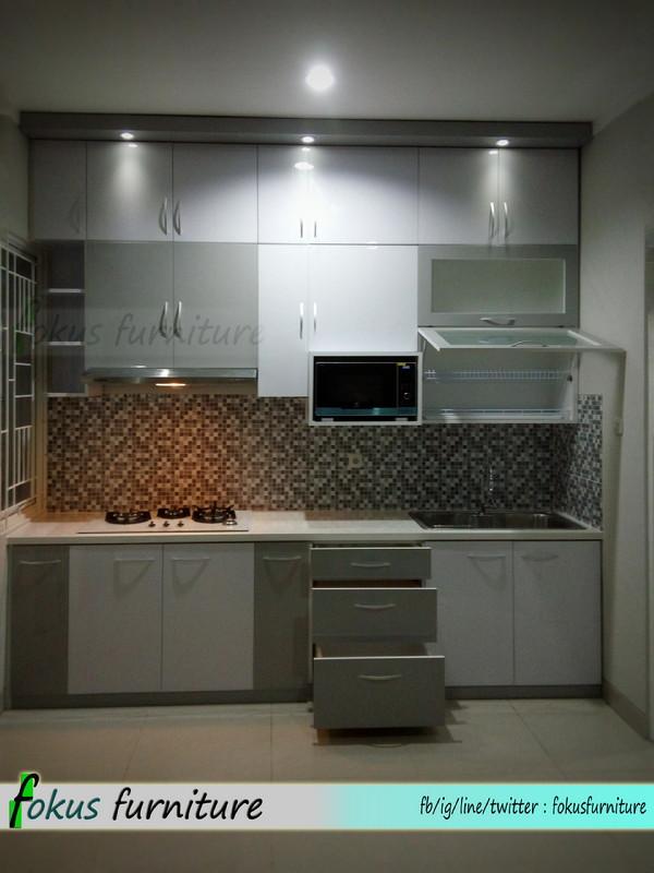 Kitchen set full plafon di tangerang furniture kitchen for Kitchen set tangerang