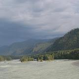 La rivière Katun près de Gorno-Altaysk, juillet 2009. Photo : Willem