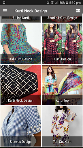 kurti neck design screenshot 2