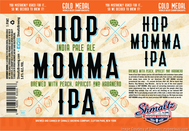 Shmaltz Brewing Hop Momma IPA Coming To 16oz Cans