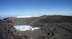 Cratère du Kilimanjaro.