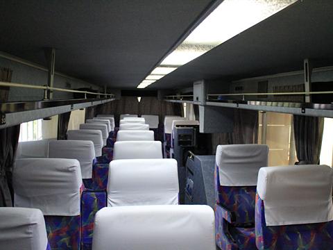 西鉄高速バス「桜島号」昼行便 3913 車内