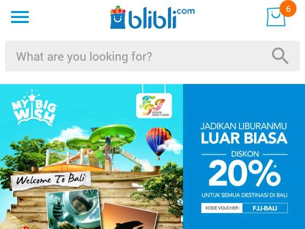 Pengalaman Belanja Online di Blibli.com